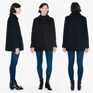 American Apparel-Audrey Wool Black Coat